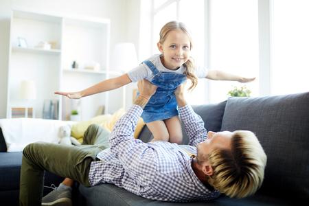 Mit Papa spielen