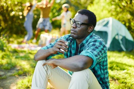Man resting Stock fotó