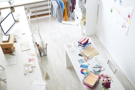 Modern fashion studio