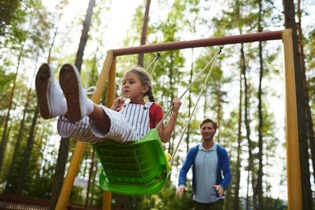 Chill on swing