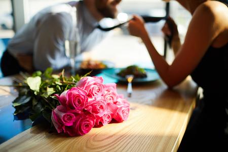 Flirt and roses