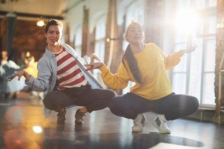 Breakdance exercise 写真素材