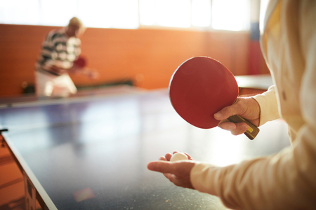 Ping pong supplies Banque d'images - 113326963