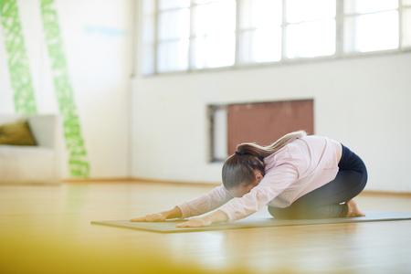 Stretching exercise Reklamní fotografie - 113966906