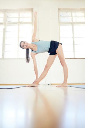 Workout in gym Standard-Bild - 113968060