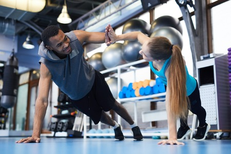 Exercising in pair