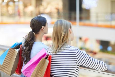 Restful shoppers