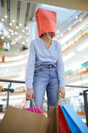 Modern shopaholic