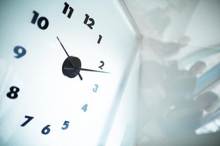 Cadran de l'horloge