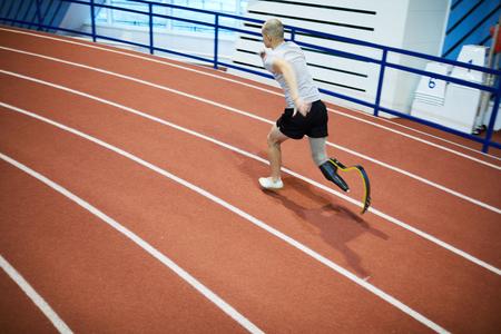 Marathon competitor