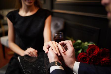 Engagement 写真素材