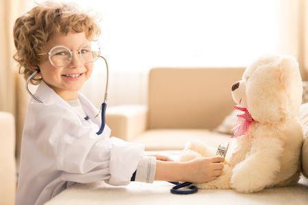 Examining teddy