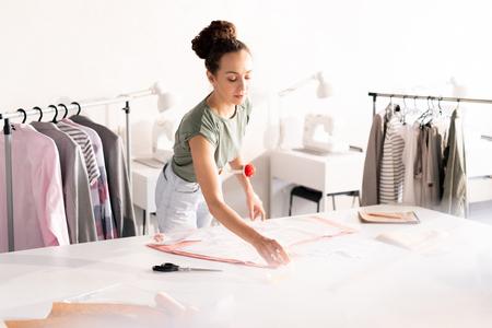 Designer of clothes Stock Photo