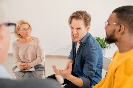 Annoyed patient