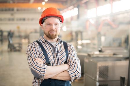 Bearded engineer Banco de Imagens