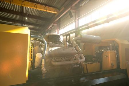 Machine in workshop Zdjęcie Seryjne
