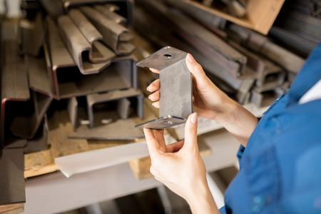 Metallic spare part