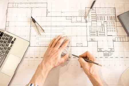 Making sketch of detail