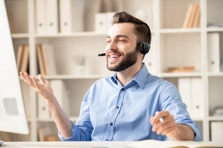 Communicating through video-chat