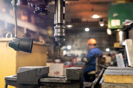 Industrial drill Standard-Bild