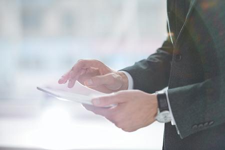 Scrolling in touchpad Reklamní fotografie