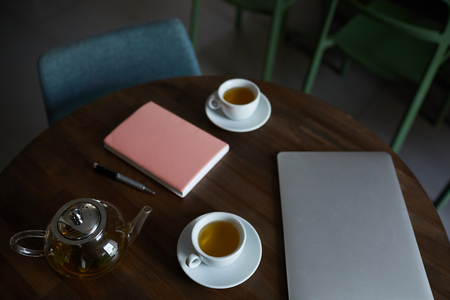 Tea and business supplies