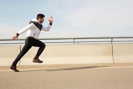 Run competition Stockfoto