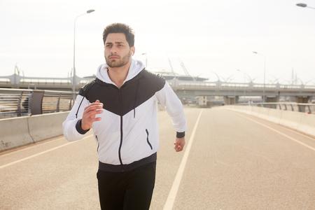 Urban jogging Stockfoto