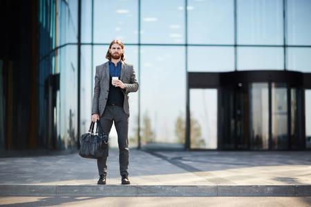 Man on travel Stockfoto