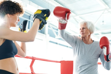 Boxing training Stockfoto - 123074924