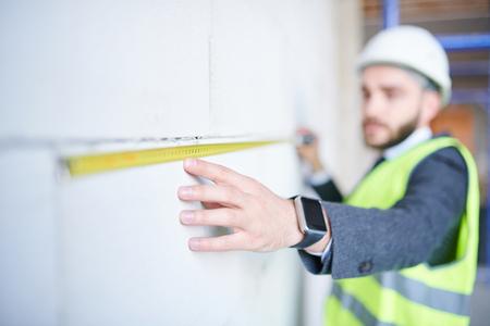 Measuring length 写真素材