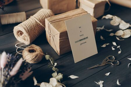 Card for special person