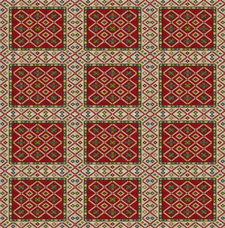 Ottoman carpets and rugs photo