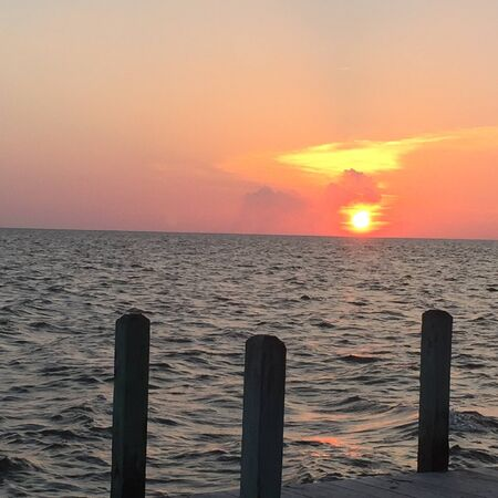 outer banks: Beautiful Sunset Soundside in the Outer Banks