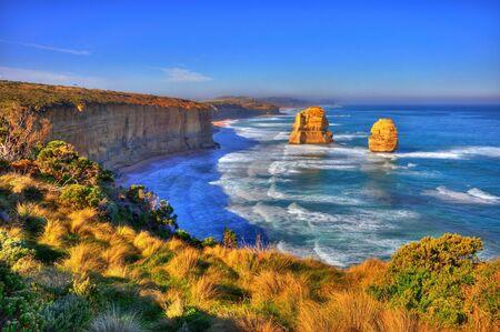 High dynamic range photo of Twelve Apostles in Australia photo