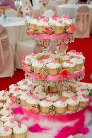 bodas de plata: Bien ordenados taza de pasteles de boda