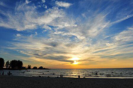 Sunset at Port Dickson, Malaysia