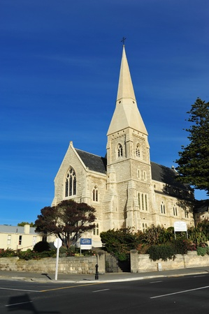oamaru: St Luke s Anglican cathedral in Oamaru, New Zealand
