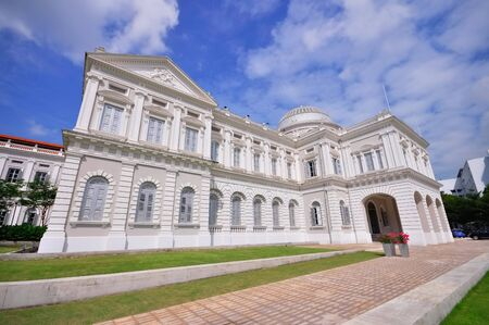 museum visit: The National Museum of Singapore Editorial