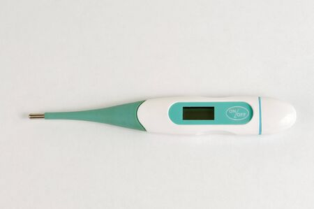 proble: Digital clinical thermometer for homes Stock Photo