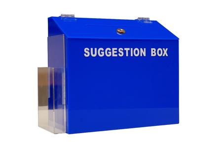 vorschlag: Isolierte blauen Kummerkasten