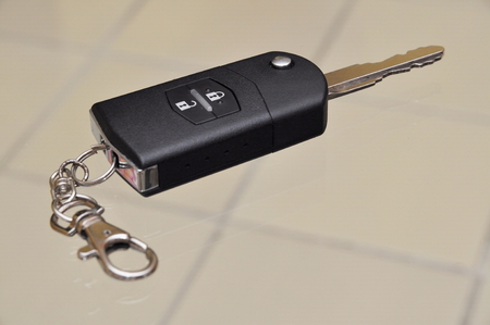 fob: Car key and remote fob Stock Photo