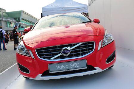 SINGAPORE - JUNE 12: Volvo S60 sedan at Formula Drift Singapore 2011 on June 12, 2011 in Singapore.