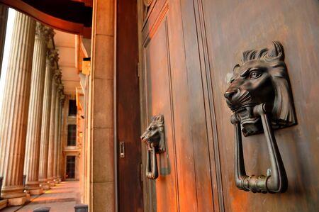 door knobs: Unique door knobs and corridor of old supreme court