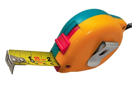 bendable: Bright and new retractable measuring tape