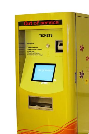 dispense: Train ticket machine out of service