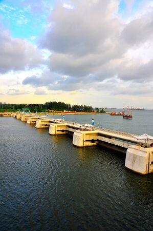barrage: Marina Barrage