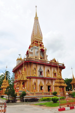 chalong: Chalong Temple in Thailand