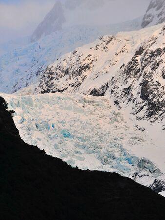 franz: Franz Josef Glacier in New Zealand