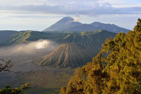 active volcano: Mount Bromo, an active volcano in East Java, Indonesia